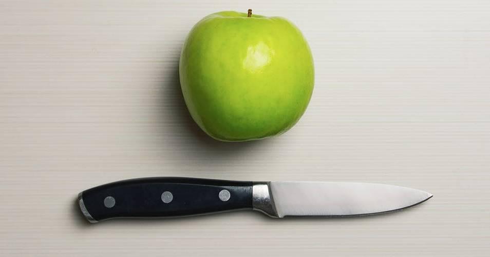 nóż do obierania